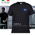 NASA T Shirts Men The Martian Matt Damon T shirt For Man 2016 High Quality O Neck Short sleeve IMPORT SPACE Tee Mens T-shirt
