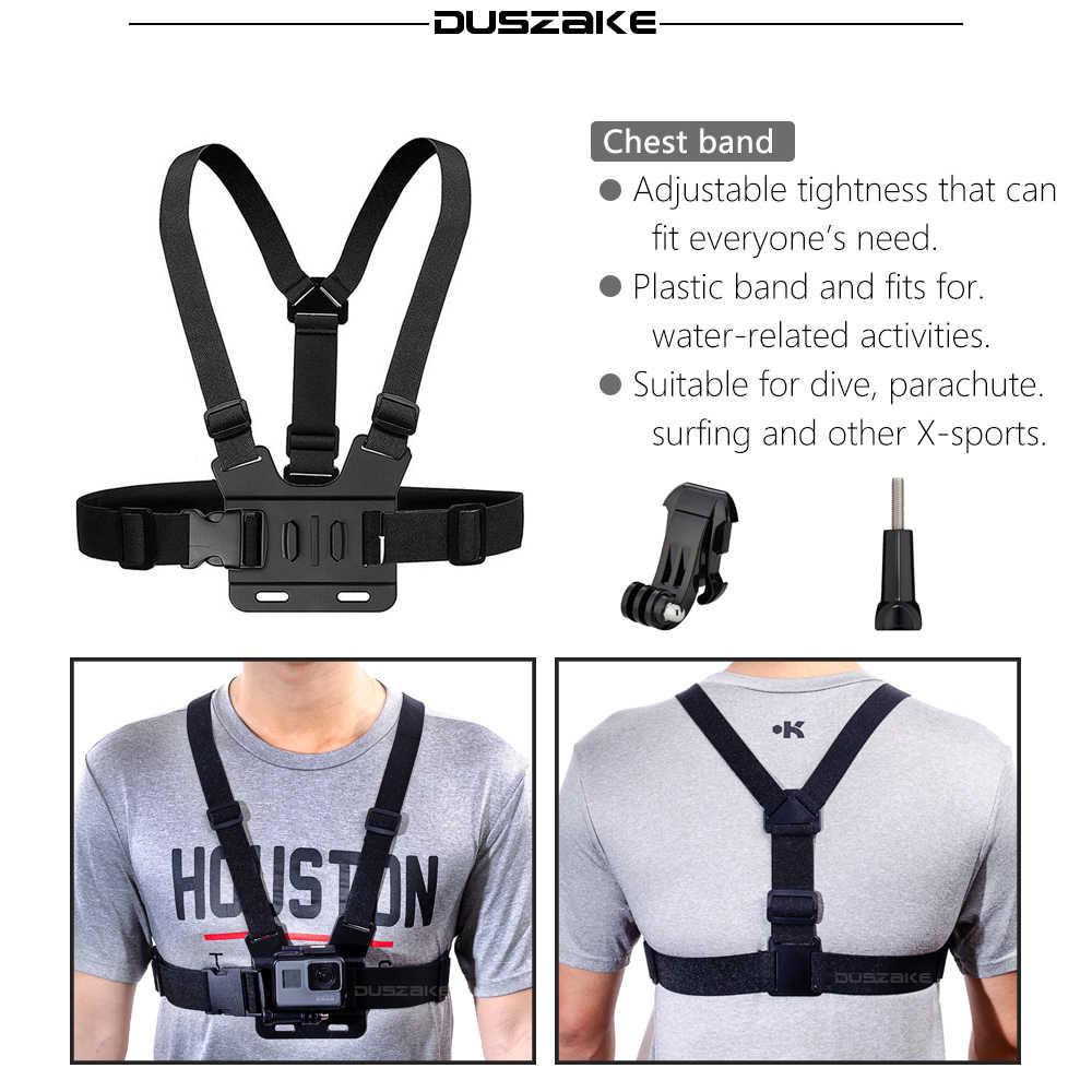 Duszake dg08胸ベルト用移動プロヒーロー5アクセサリー用のgopro移動プロヒーロー5アクセサリー用yi 4 k eken h9 sjcam
