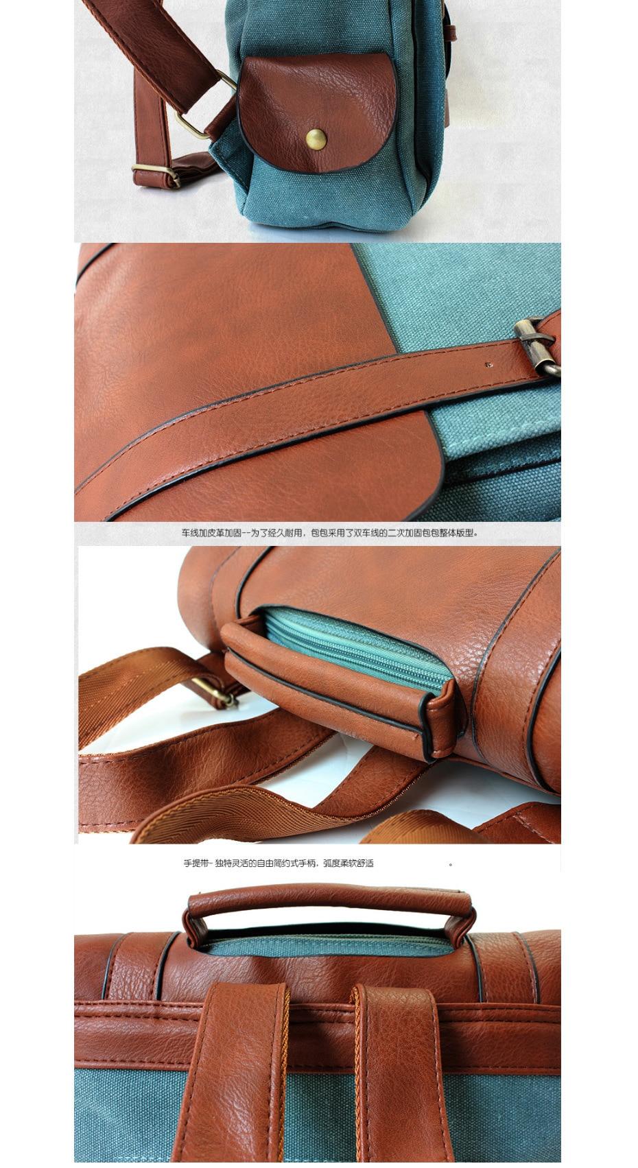 HTB15vCHgFOWBuNjy0Fiq6xFxVXak - 2018 Fashion Women Leather School Vintage Backpack Men Small Schoolbag Mochila Feminina Brown Black Backpacks Kanken Sac A Dos