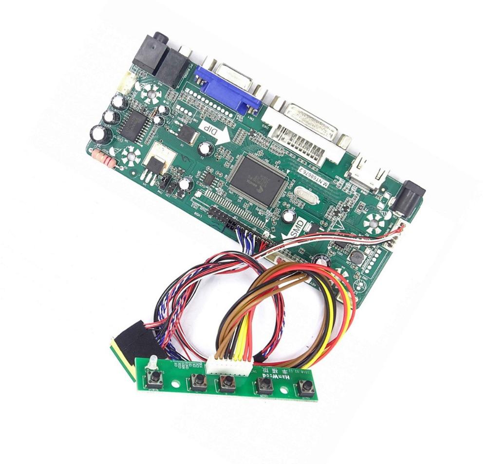 M.NT68676 HDMI DVI VGA LED LCD Controller Board Kit DIY For N173FGE-L12/L13 N173FGE-L21/L23 N173FGE-L63/LA3 1600X900