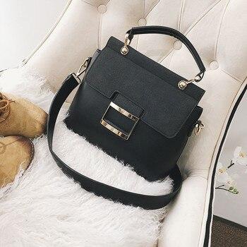 Bags For Women 2019 Fashion Wild Simple Messenger Bag For Grils Fashion Lady wild Matte Texture Classic Shoulder Square Bag K529
