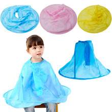Children Kids Salon Hair Cutting Cape Haircut Apron Cloak Clothes Waterproof