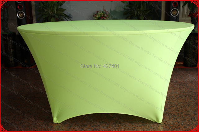 Neon Green Lycra/Spandex Table Cover/Tablecloth/Table Runner/Chair Covers  For