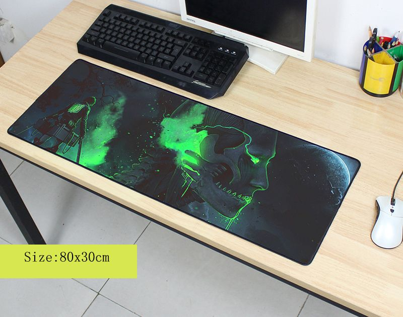 attack on titan mousepad 800x300mm pad to mouse cute computer mouse pad anime gaming padmouse High quality gamer to mouse mats