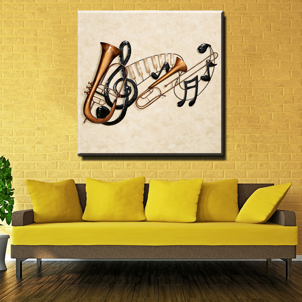 Contemporary Musical Wall Art Decor Image - Wall Art Collections ...