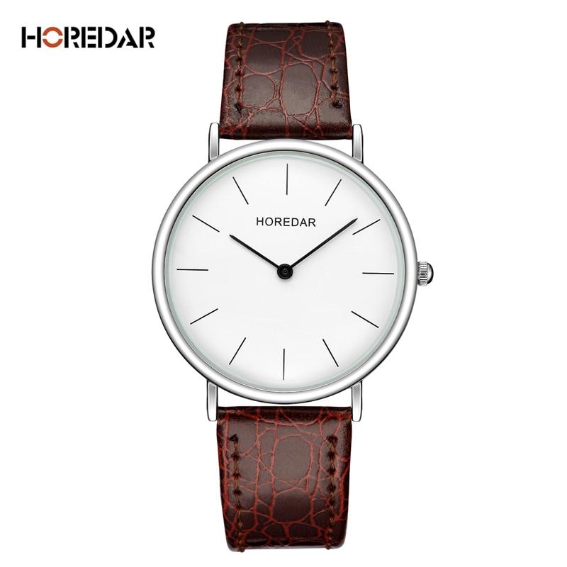 HOREDAR Elegant Slim Quartz Watch 2017 Luxury Top Brand Women Watches Ladies Waterproof Wristwatch Relojes Mujer