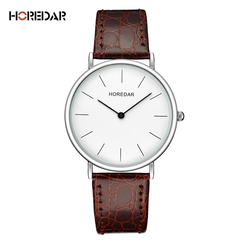 HOREDAR Elegant Slim Quartz Watch 2017 Ls