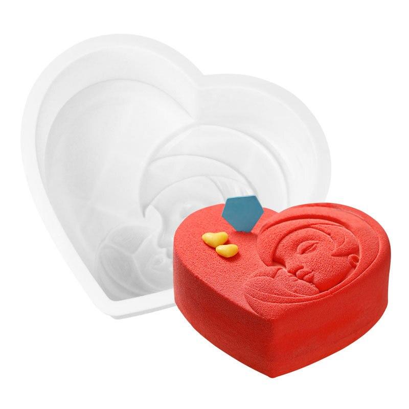 Распродажа 1 шт Силиконовые формы для торта опционные Кондитерские инструменты кухонные формы для выпечки дешевые силиконовые формы для тортов случайный цвет