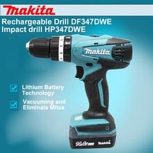 Japan Makita Rechargeable Drill DF457DWE Impact HP457DWE 18V Lithium Electric Screwdriver