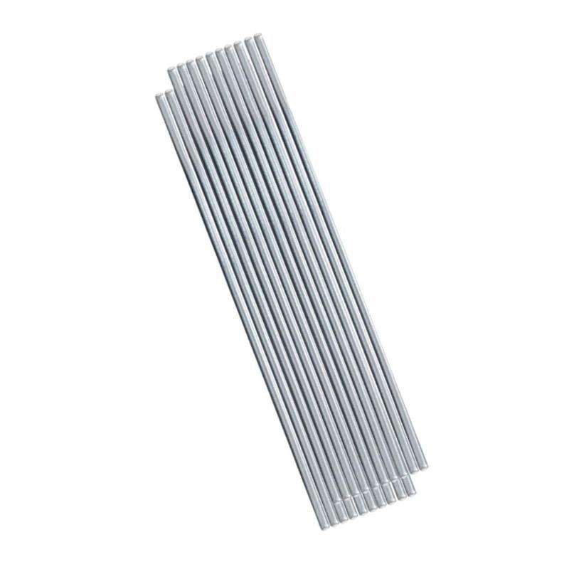 10Pcs Low Temperature Aluminum Welding Solder Wire Flux Brazing Repair Rods