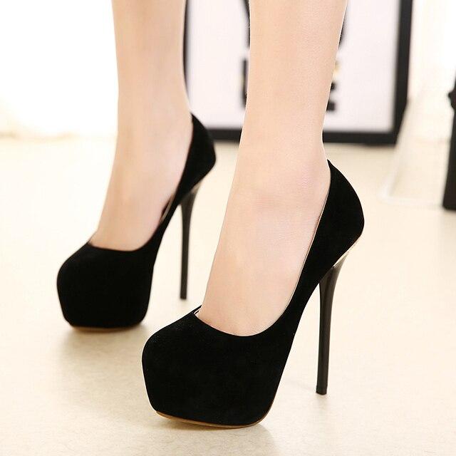 Aguja sexy taco zapatos