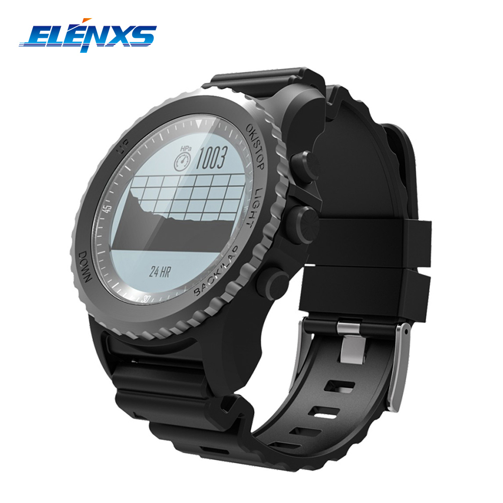 S968 Bluetooth Smartwatch Men IP68 Waterproof Support Air Pressure GPS Heart Rate Monitor Fitness Tracker Smart Wristband Watch no 1 f2 ip68 bluetooth smartwatch green