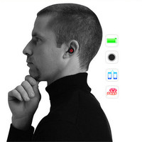 Bluetooth 4 0 Stereo Super Mini Earphone Sport Music Headset Wireless Headphone Handsfree For IPhone Samsung