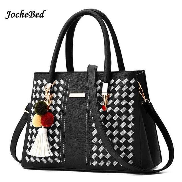 bf5d09ba329 2017 Fashion Brand Luxury Women Designer Handbag Female Weave Sling Cheap  Shop Online Handbag Cross-Body Briefcase Canta Handbag