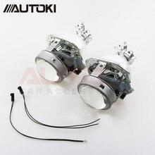 Free Shipping Autoki D2S Bulb Base Hella 4 EVOX-R HID Bi-xenon Projector Lens For Universal Vehicles Headlight Retrofit