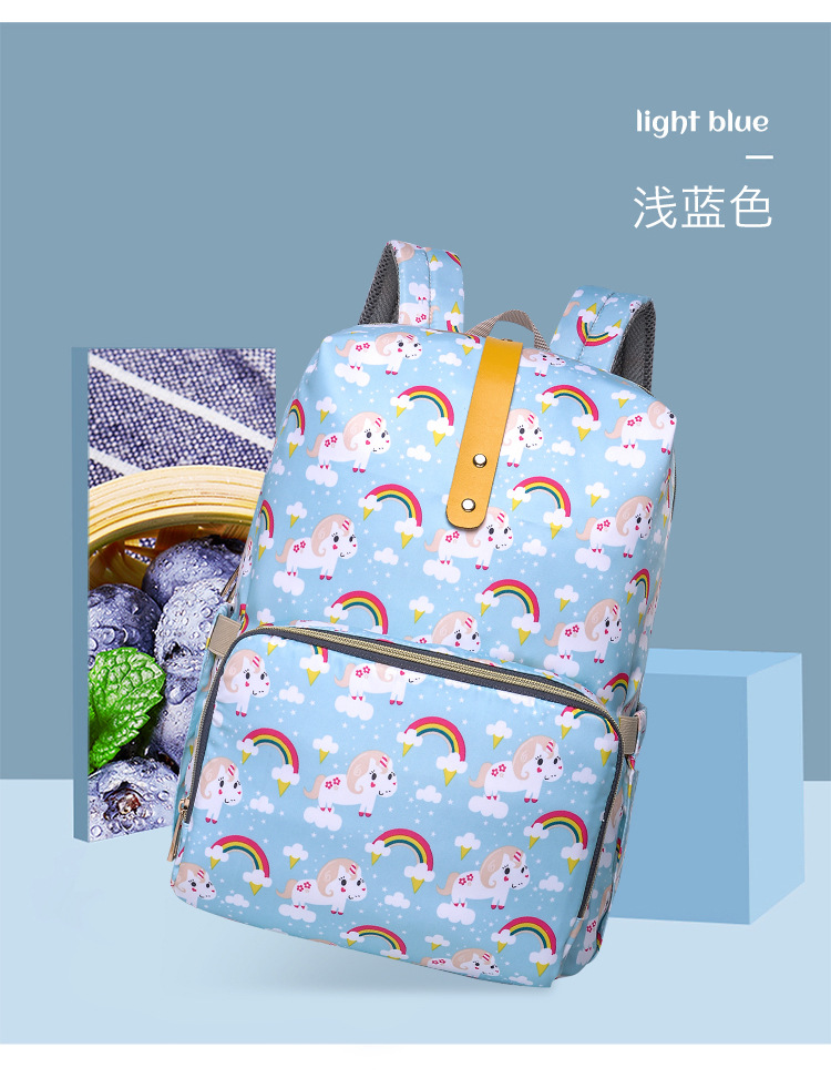 2019 NEW Diaper Bag Mummy Maternity Nappy Bag Women Backpack Nappy Large Capacity Baby Waterproof Travel Shoulder Stroller Bag (15)