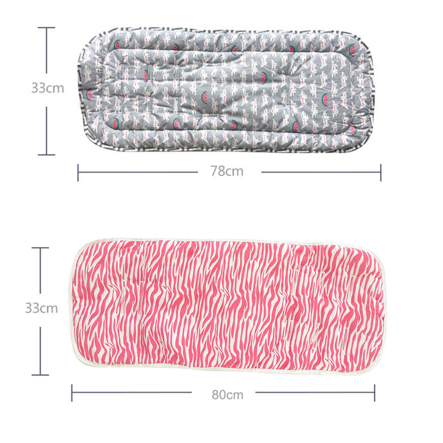 Baby Stroller Accessories Car Seats Pad Soft Mattress In A Stroller Cotton Baby Stroller Cushion Infant Diaper Pad Seat Pad Pram