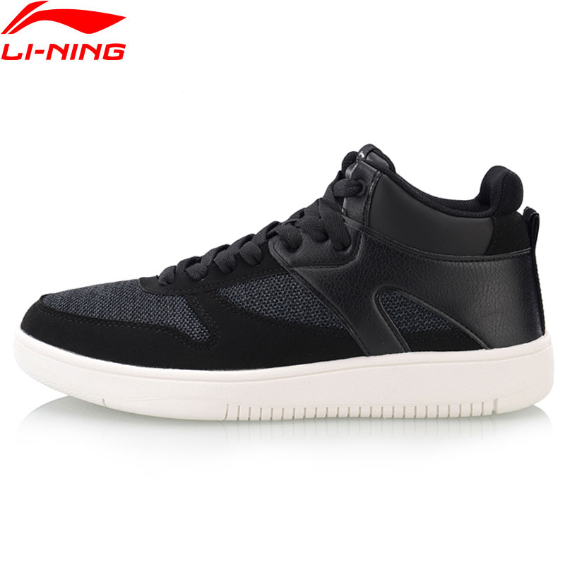 Li Ning Men LN JUSTICE Walking Shoes Wearable Classic Sneakers Leisure Fitness LiNing Sport Shoes AGCN307