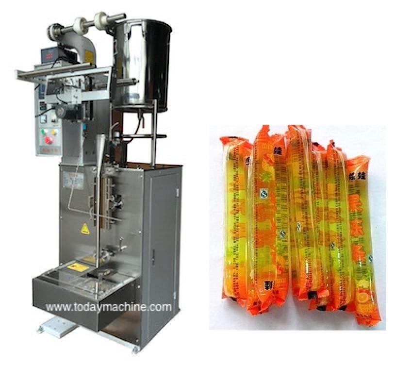 5g 8g 10g Stainless Steel Automatic Sachet Stick Honey Packing Machine