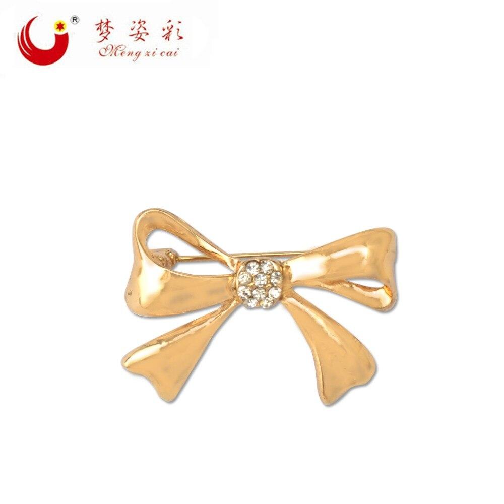 Модные стразы брошь для галстука-бабочки MZC, для женщин, броши для галстука для лучших друзей, костюм, платье, штифтовый Брош, ювелирные издел...