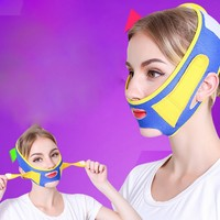 Thin V Face Lift Massager Face Slimming Mask Belt Facial Massager Tool Anti Wrinkle Reduce Double Chin Bandage Face Shaper
