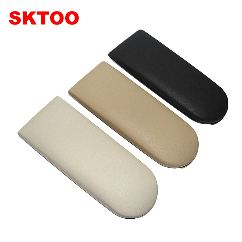 SKTOO For VW Lavia New Jetta Passat B5 Old Bora Golf 4 Polo Armrest cover plate Central control armrest cover