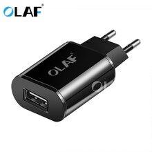 OLAF 5V 2A USB зарядное устройство для iPhone X 8 7 iPad Air быстрое Сетевое зарядное устройство EU адаптер для Samsung S9 Xiaomi Mi6 Mi5 зарядное устройство для мобил...