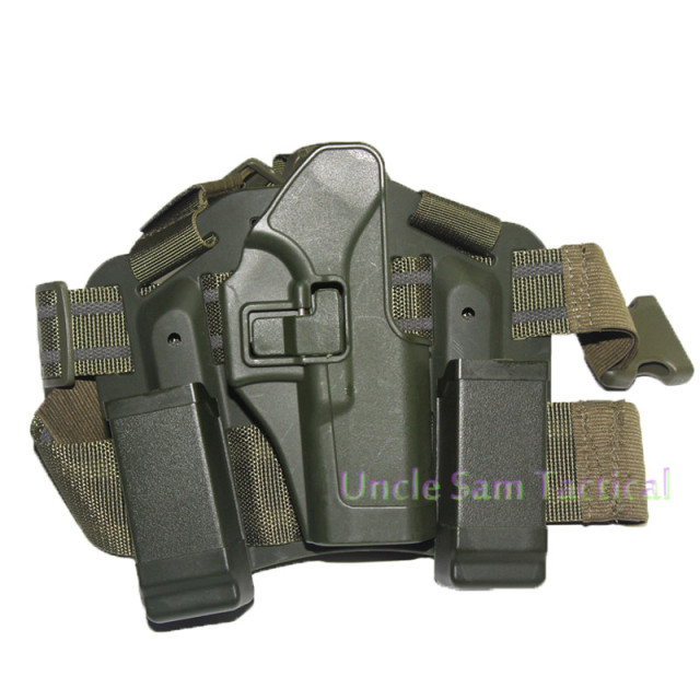 Tactical CQC Glock Leg Holster Military Combat Thigh Holster Hunting Shooting Gun Holsters For Glock 17 19 22 23 31 32 3