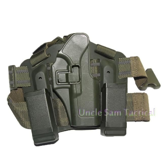 Tactical CQC Glock Leg Holster Military Combat Thigh Holster Hunting Shooting Gun Holsters For Glock 17 19 22 23 31 32 3