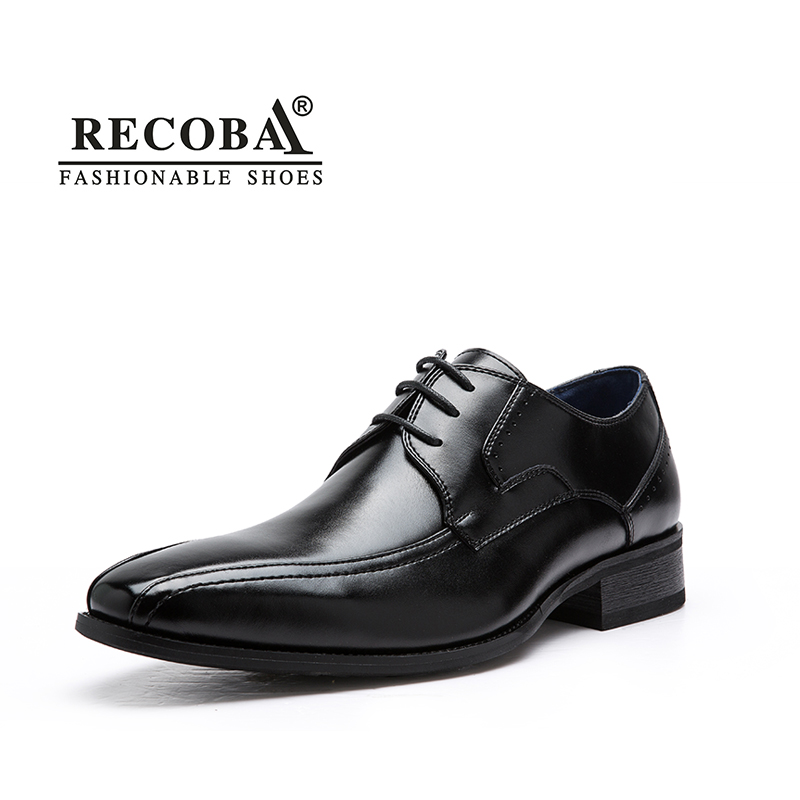 Mens shoes luxury brand designer genuine leather lace up black formal dress  wedding brogues oxfords derby shoes zapatos hombre 9a59af567efb