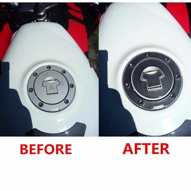 3D motosiklet gaz yağ yakıt deposu pedi koruyucu kapak kılçık Sticker Moto Honda CBR RVF VFR CB400 CB1300 CBR1000RR CBR600R