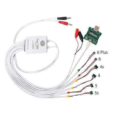 imágenes para Prueba de corriente de alimentación profesional cable de activación de la batería junta para iphone 4 4s 5 5s 6 6s 7 plus