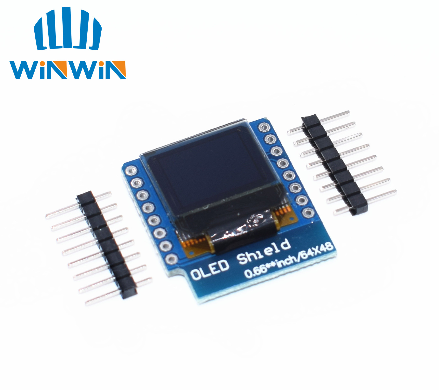 D04 0.66 inch 64X48 IIC I2C OLED LED LCD Dispaly Shield Compatible 0.66 inch Display for WEMOS D1 MINI ESP32D04 0.66 inch 64X48 IIC I2C OLED LED LCD Dispaly Shield Compatible 0.66 inch Display for WEMOS D1 MINI ESP32