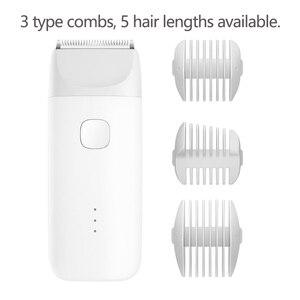 Image 5 - Xiaomi Mitu электрический триммер для волос профессиональный Мужской Борода Машинка для стрижки волос Бритва USB перезаряжаемая Беспроводная Машинка для стрижки волос