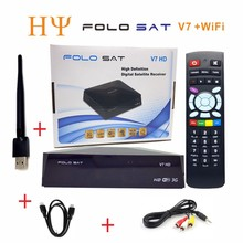 [Genuine]FOLOSAT V7 HD DVB-S2 MPEG4 Satellite TV Receiver Support PowerVu Biss Key Cccamd Newcamd  Yotube