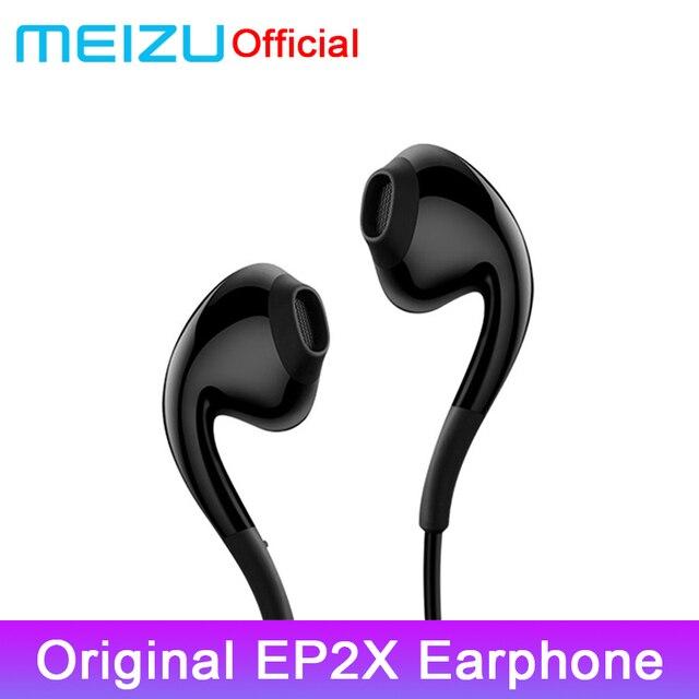 Original MEIZU Earphone EP2X in Ear with Microphone 14mm Superfine HD Sound Quality Headset For Meizu 16th 16x Phone