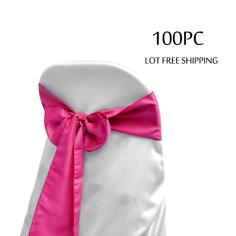 100PC Lot Tiffany Blue Wedding Decoration Chair Bow Knot Ties for Hotel Marriage Banquet Outdoor Party