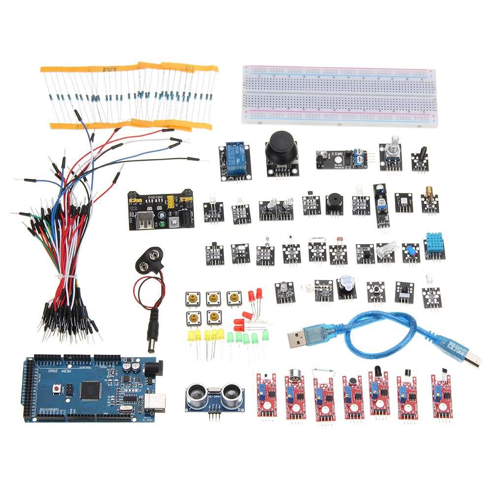 Kit de capteur 37 In1 Kits d'apprentissage de base carte de Module de capteur pour Arduino