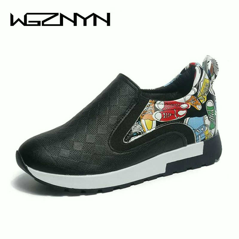 Women Nice Summer Autumn Breathable Leather Hidden Heels Female Platform Wedges Sneakers Fashion Height Increasing Shoes W308 new fashion women height increasing summer breathable waterproof wedges sneakers platform shoes woman pu leather casual shoe