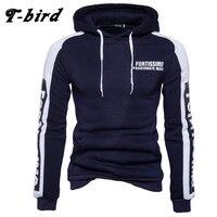 T Bird 2018 Hoodies Men Letter Printing Men Hip Hop Sweatshirt Winter Fashion Brand Hoodie Men
