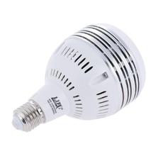 100 ~ 250V 60W LED günışığı dengeli E27 5400K ampul stüdyo modelleme lambası fotoğraf Video aydınlatma