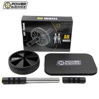 POWER GUIDANCE Fitness Abdominal Roller Wheel Single Dynamic Strength & Trainer Portable Crossfit waist exercise equipment