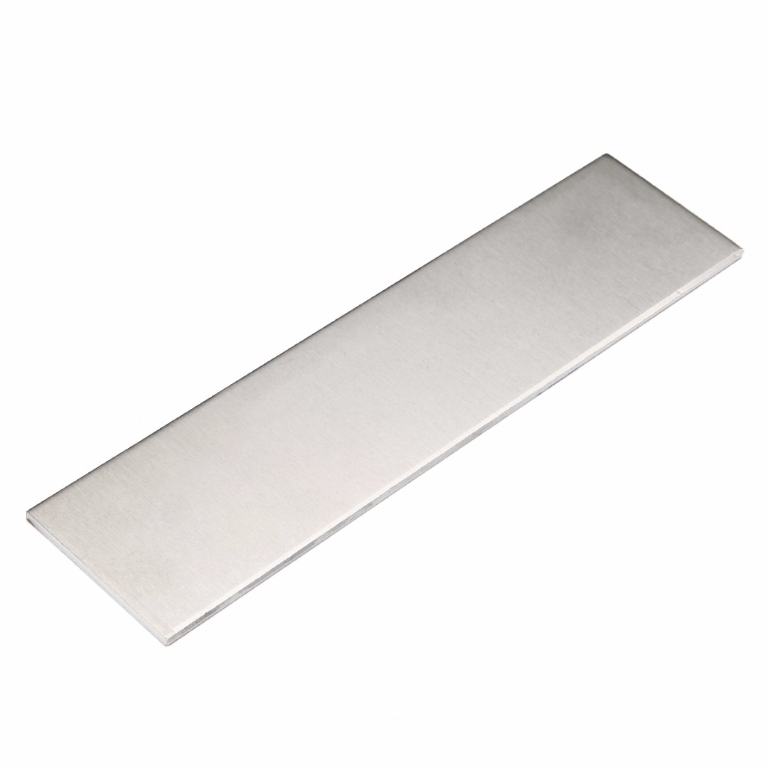 1pc 6061 Aluminum Flat Bar Flat Plate Sheet 3mm Thickness 200x50x3mm With Wear Resistance