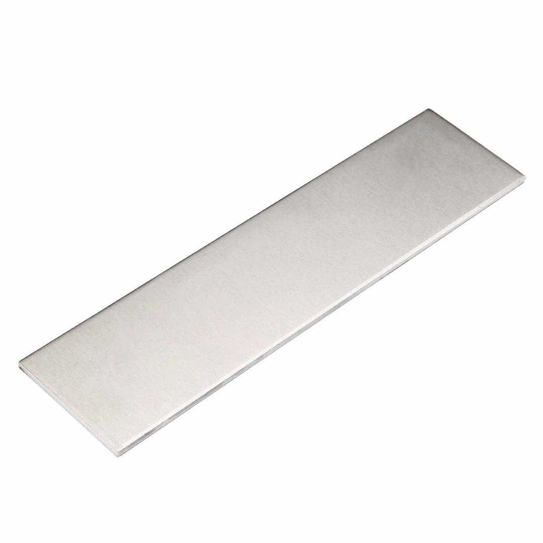1pc 6061 Aluminum Flat Bar Flat Plate Sheet 3mm Thickness 200x50x3mm With Wear Resistance