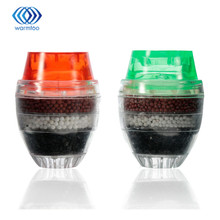 2Pcs Water Filter Carbon Home Household Kitchen Mini Faucet Tap Water Clean Purifier Filter Filtration Cartridge 21-23mm