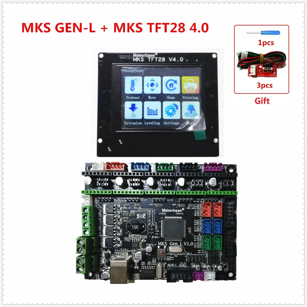 MKS GEN L V1 0 MKS TFT28 LCD V4 0 minipanel touching display cheap 3D print