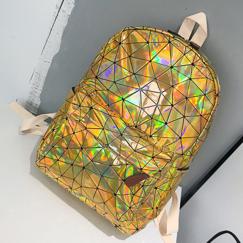 HTB15vJLgYPpK1RjSZFFq6y5PpXaI Large Travel Bags Laser Backpack Women Men Girls Bag PU Leather Holographic Backpack School Bags for Teenage Girls fashion bag