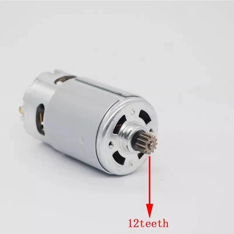 12 Teeth Motor 2 609 199 378 2609199378 14.4V For BOSCH GSR 1440-li GSR1440-LI TSR1440-LI Cordless Drill Driver