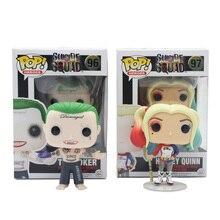 Funko Pop Original 96 #97 # Comando Suicida Boomerang Joker Batman Harley Quinn Deadshot Rick Katana de Colección Figura de Vinilo modelo
