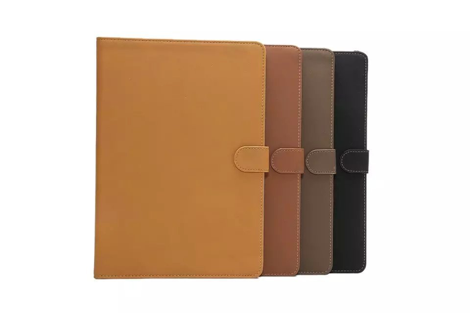 Business Retro Matte Style Flip Folio Stand Cass Pu Leather Book Case Cover For Samsung Galaxy